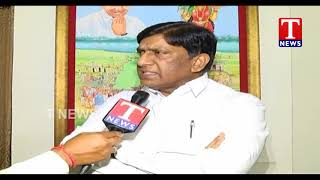 MP Vinod Kumar Slams Mahakutami | F to F | Delhi | T News Telugu