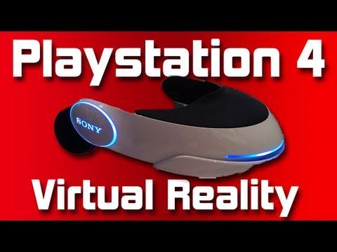 Playstation 4 Virtual Reality Gaming
