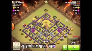 Clan Wars - War Usa vs Invictus - Clash of Clans
