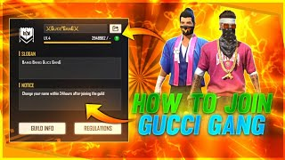 HOW TO JOIN GUCCI GANG 🔥🔥🔥para SAMSUNG A3,A5,A6,A7,J2,J5,J7,S5,S6,S7,S9,A10,A20,A30,A50,A70 // FF