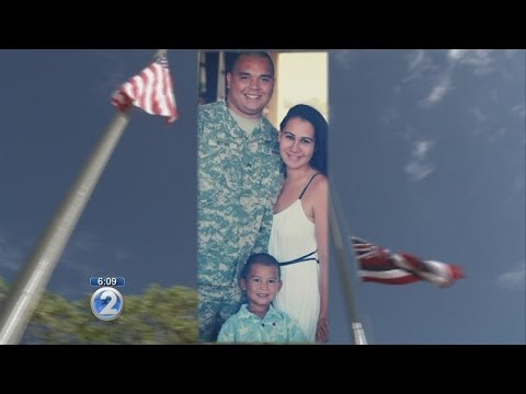 Flags flown at half-staff for Hawaii soldier