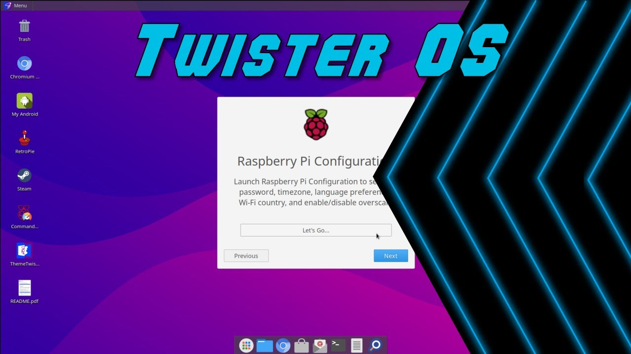 Twister OS Review on RaspberryPi 4