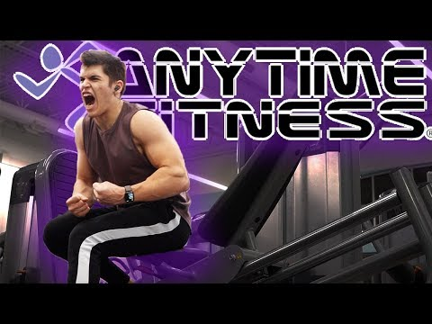 THE BEST 24 HOUR GYM!?!? (Anytime Fitness Review)