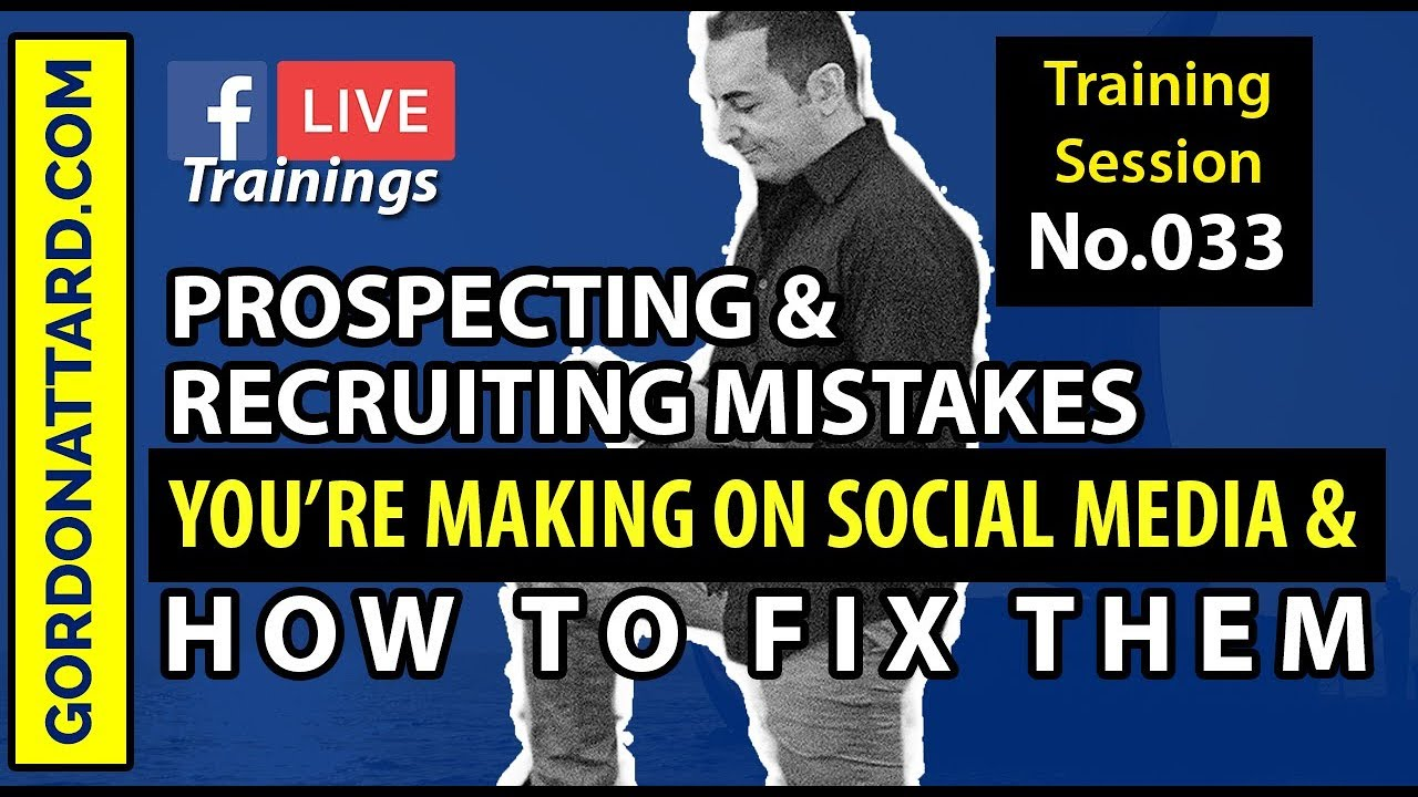 Prospecting And Recruiting Mistakes You're Making On Social Media
