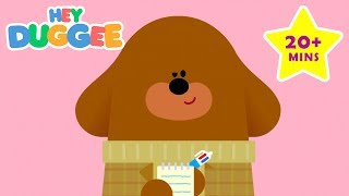 Working Together - 20 Minutes - Duggees Best Bits - Hey Duggee