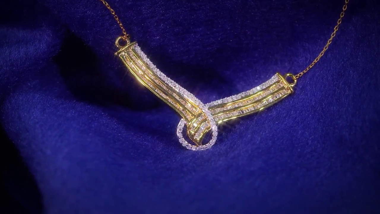 Diamond Necklace Lmvj47 Straight From Factory Youtube