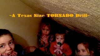a texas size tornado drill