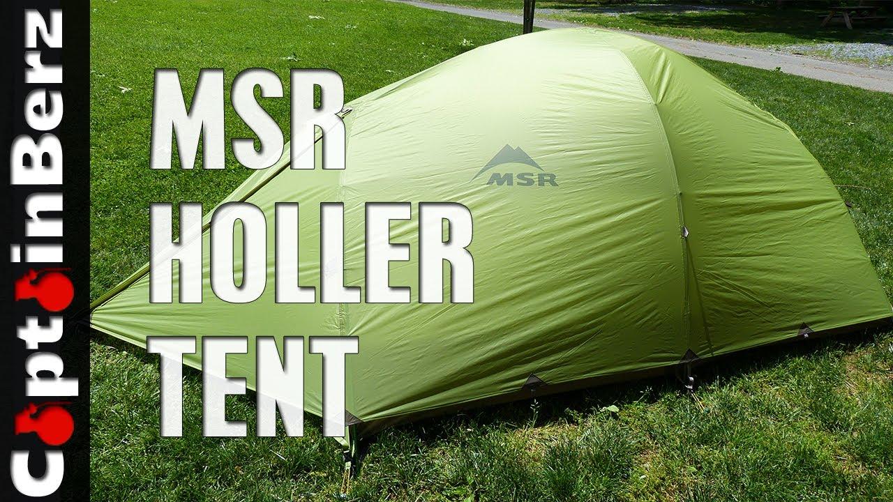 MSR Holler Tent & MSR Holler Tent - YouTube