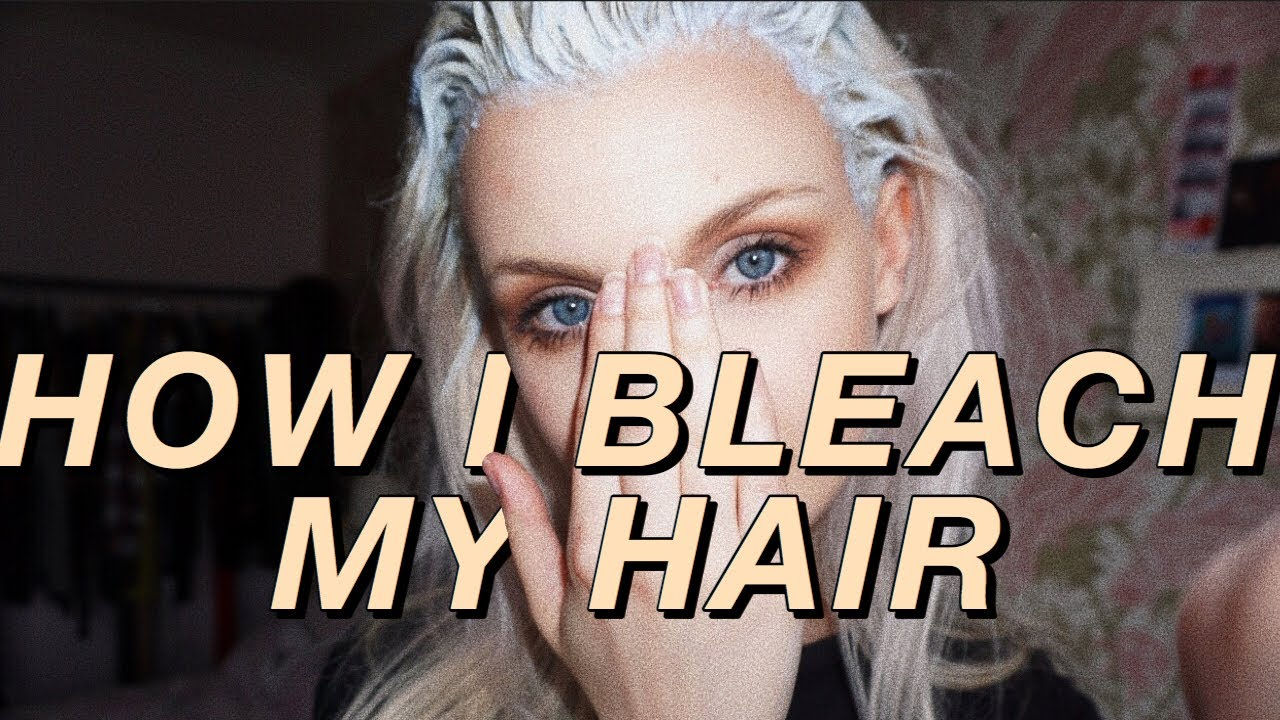 how to bleach your hair youtube. Black Bedroom Furniture Sets. Home Design Ideas