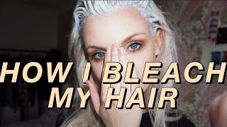HOW I BLEACH MY HAIR