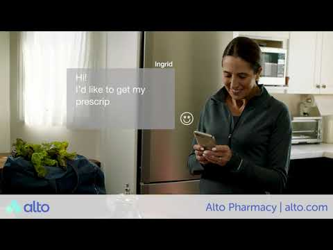 A First Delivery By Alto Pharmacy