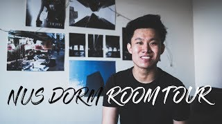 NUS UTOWN DORM ROOM TOUR 2018