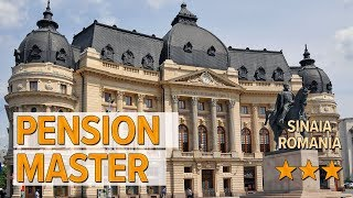 Pension Master hotel review Hotels in Sinaia Romanian Hotels