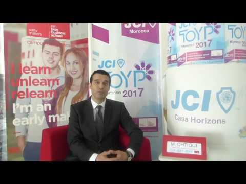 Interview Tawhid Chtioui (Dean emlyon business school Africa) - TOYP Morocco 2017