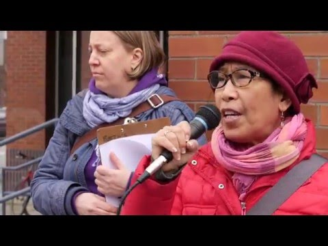 Beth, Migrante BC -Against Police Brutality