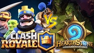 CLASH ROYALE (Substituto do CLASH OF CLANS ?) Vs HEARTHSTONE