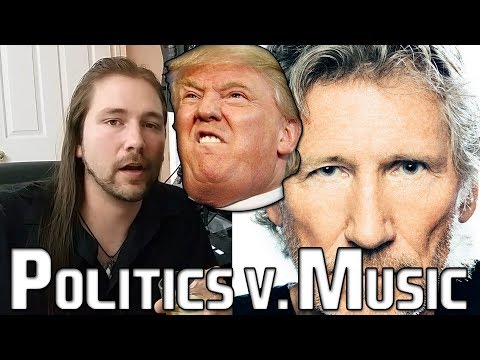 POLITICS V. MUSIC (Roger Waters v. Trump) | Mike The Music Snob
