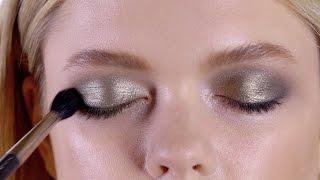 Вечерний макияж с эффектом металлик(В этом сезоне оттенки