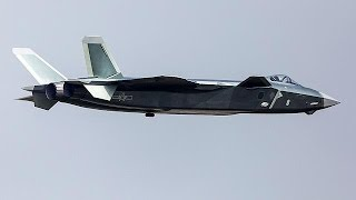 China displays J-20 stealth jet at country's biggest air show - world