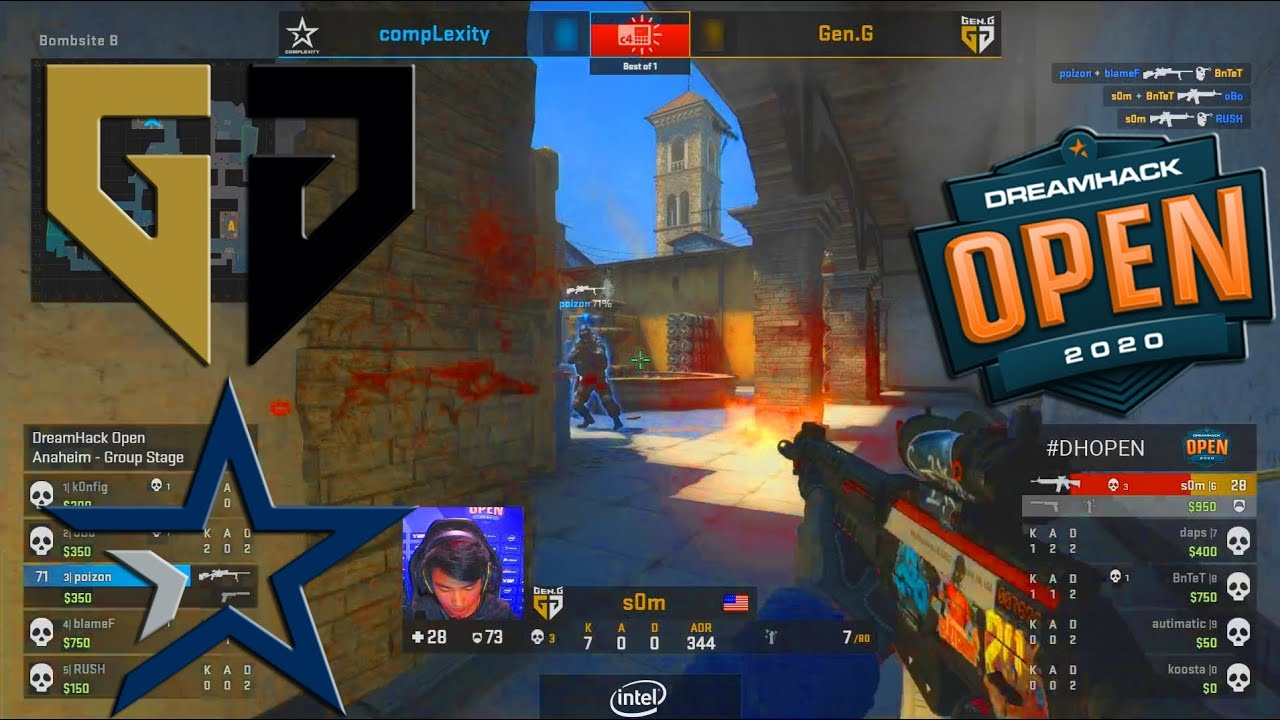 Gen.G vs Complexity - DreamHack Open Anaheim 2020 - CS:GO thumbnail