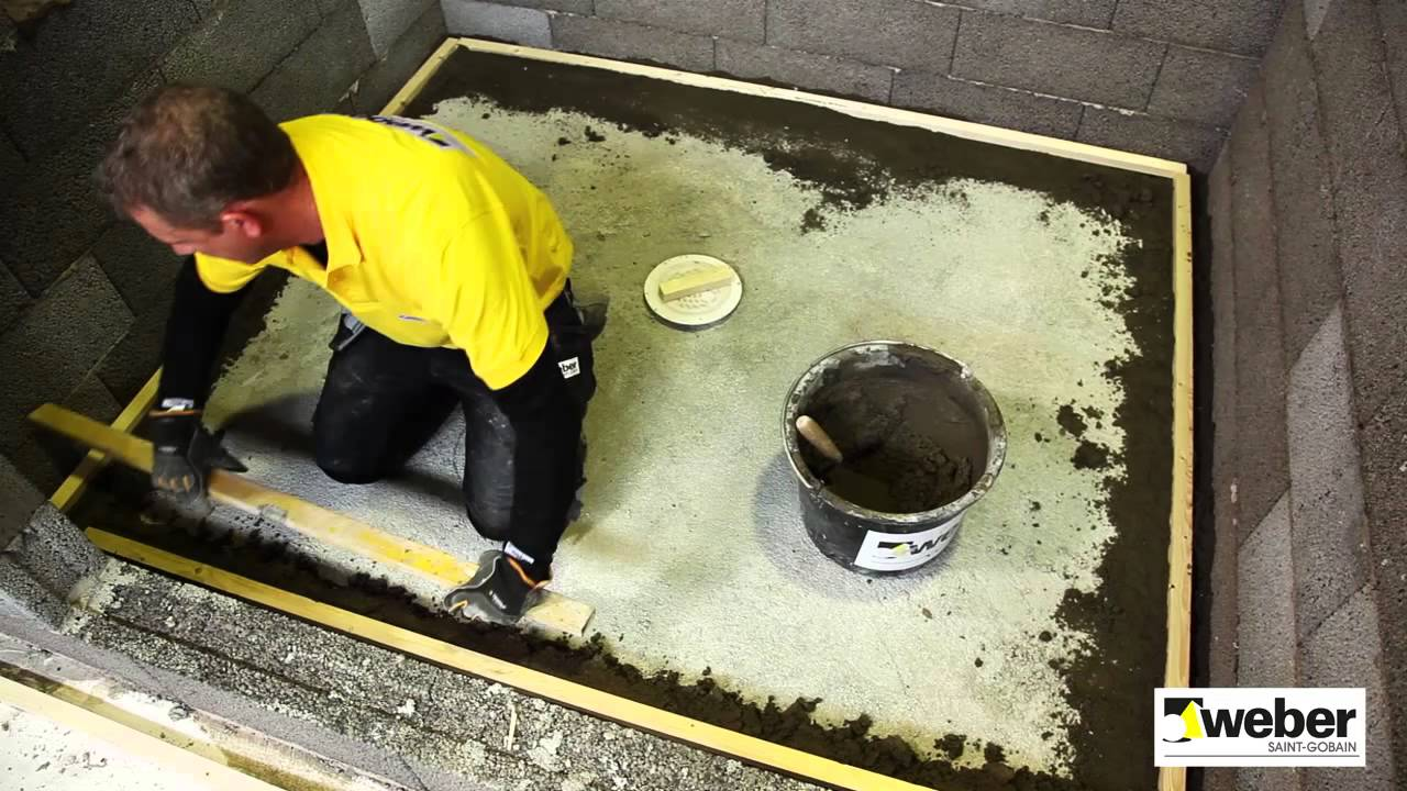 Bygga fall till golvbrunn - så gör du - YouTube : golvbrunn : Inredning