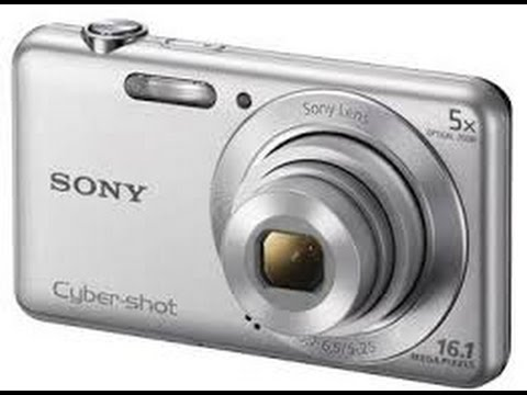 Sony Cyber-shot DSC-W710 16.1 Megapixel Digital Camera with 5x Optical Zoom and 2.7-Inch LCD Screen