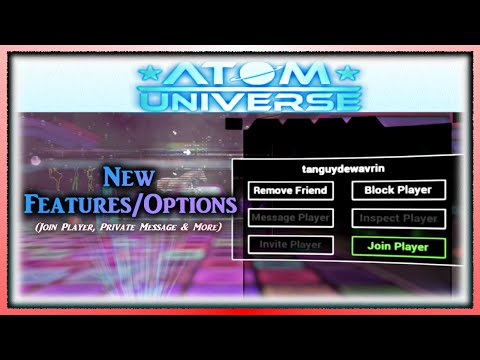 Atom Universe - Join Friend, Private Messaging & MORE