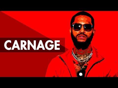 """CARNAGE"" Trap Beat Instrumental 2018   Hard Dark Lit Rap Hiphop Freestyle Trap Type Beats   Free DL"