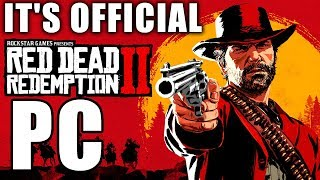 It's Official: Read Dead Redemption 2 Is Coming To PC!