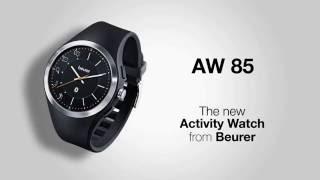 Đồng hồ theo dõi sức khỏe Beurer AW85