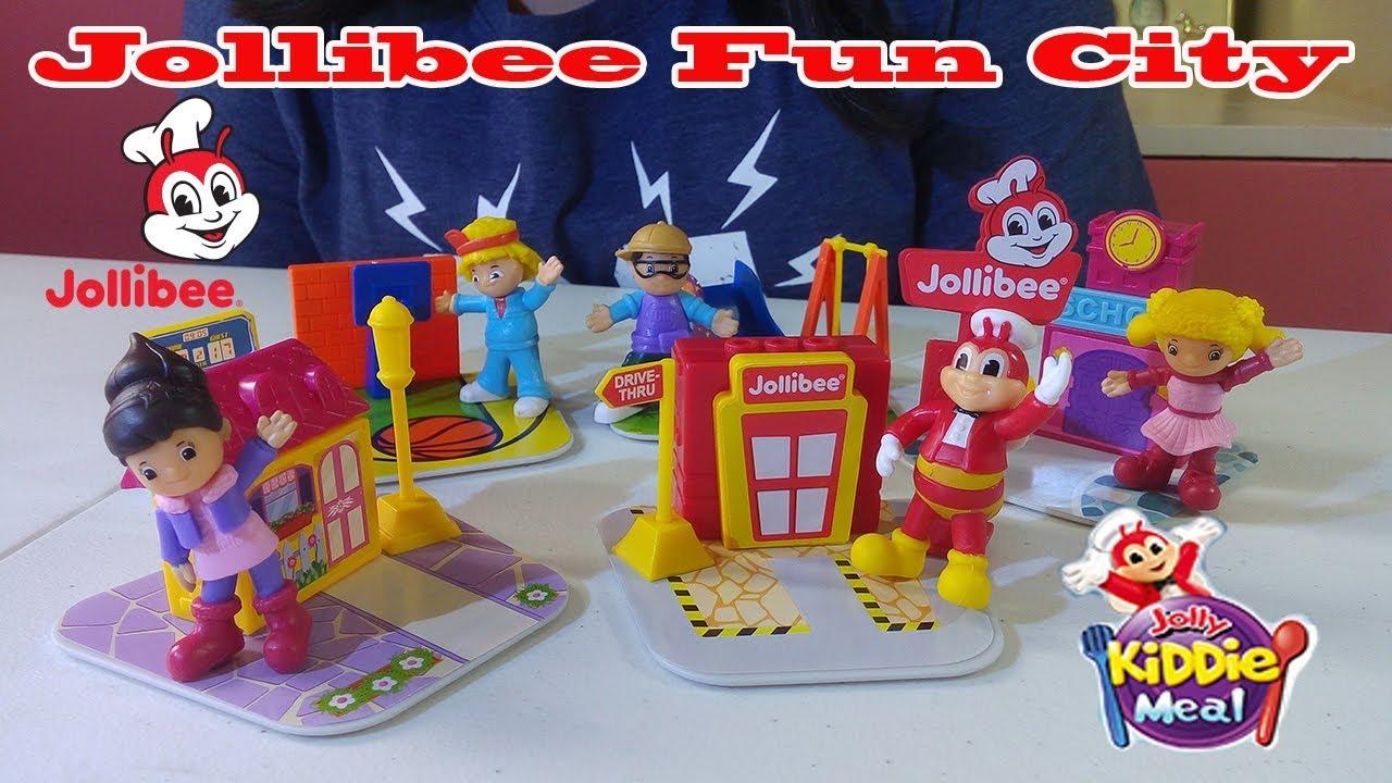September 2018 Jollibee Fun City Complete Jolly Kiddie