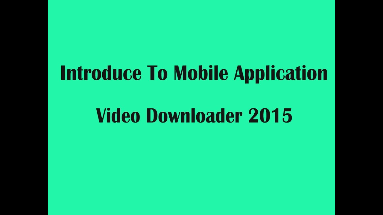 How to download youtube video for android tablet