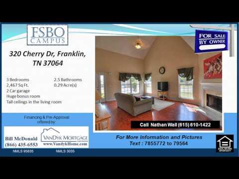 3 Bedroom House For Sale near Freedom Intermediate School in Franklin TN