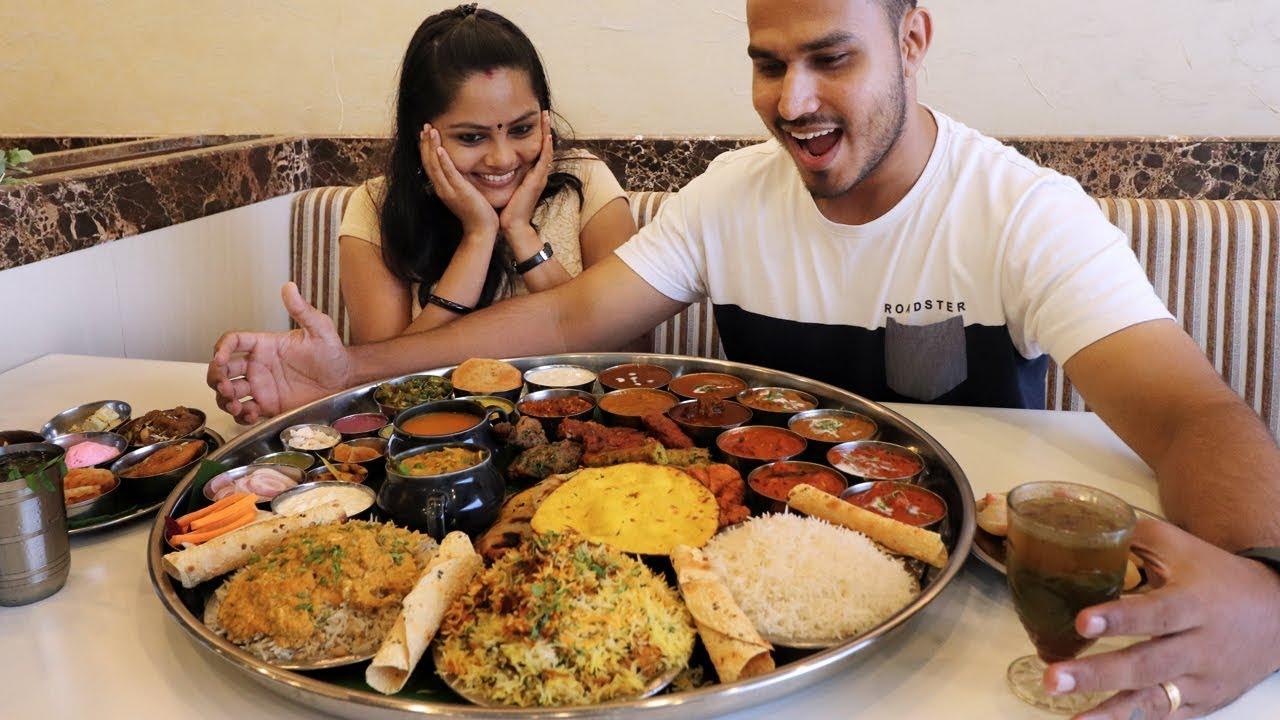 Biggest Thali Ever | Mumbai Food Dara Singh Thali | Malayalam food Vlog by Social Soldier