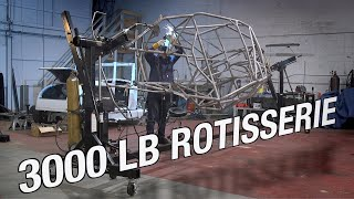 Rotate Projects With Ease - 3000 LB Rotisserie Gets The Job Done! Eastwood