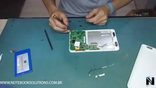 Tutorial de como desmontar e montar um tablet Philco 7A