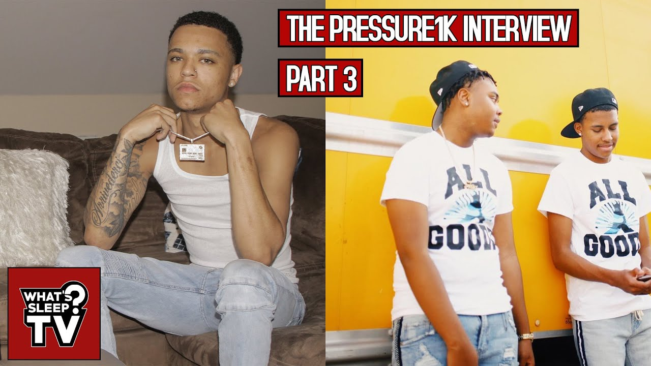 "Pressure1k ""A Lot Of People Say I'm Cocky"" + Talks Upcoming Music With Too Wavy Crew"