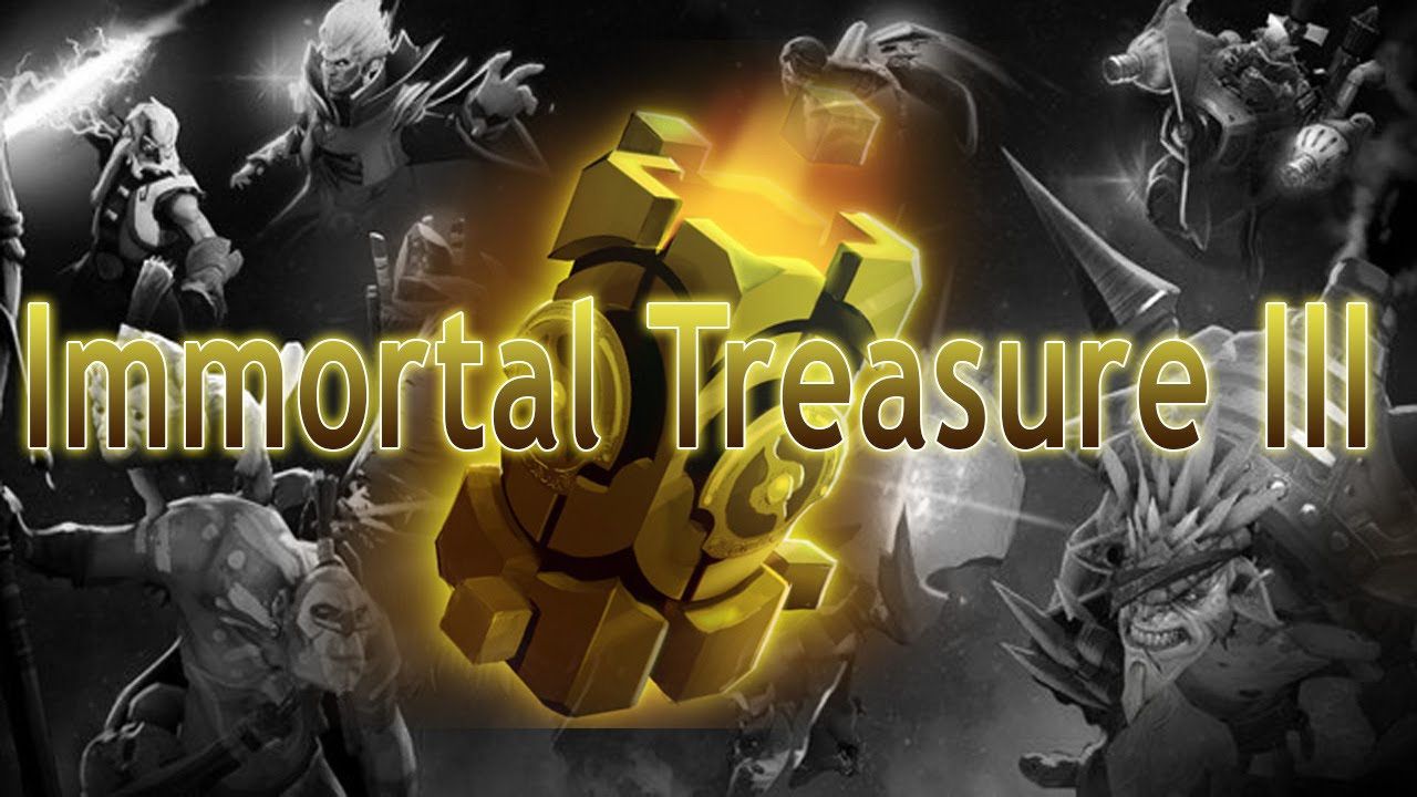 All 5 Immortal International 3 Items Compendium: TI5 Compendium Immortal Treasure III X9 + Items