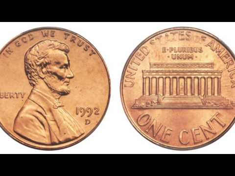 $$$ 1992 Penny Worth Hundreds to Thousands Of Dollars? $$$ Variety / Error Coin Roll Hunting