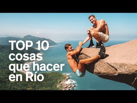 LAS 10 MEJORES COSAS QUE HACER EN RÍO (BRASIL) 4K | enriquealex