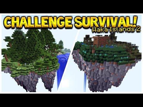 Minecraft Sky Islands - Waka Islands 2 Challenge Survival (Minecraft Java Edition)