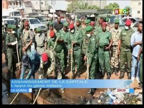 www.guineesud.com - Conakry : opération d'assainissement par l'armée et la police