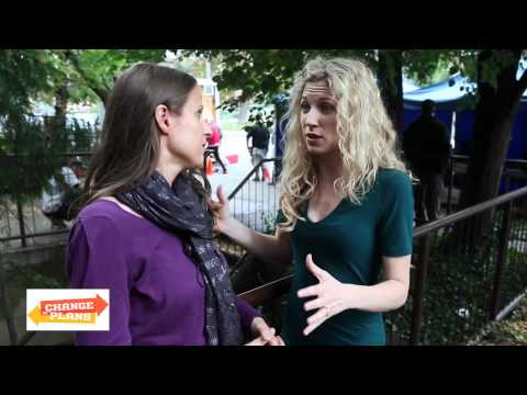 "Brooke White Interview on ""Change of Plans"" set with 5 Minutes for Mom"
