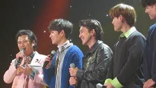 171114 올댓뮤직 잔나비 인터뷰 1 @원주 치악체육관