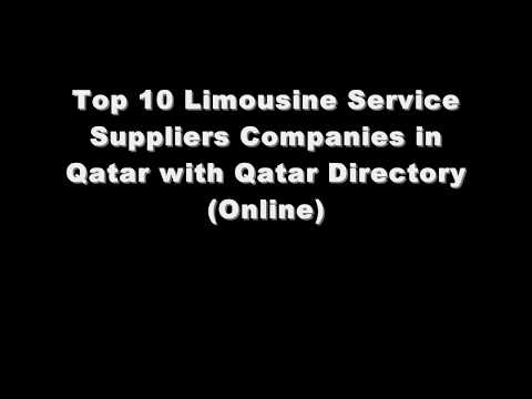 Top 10 Limousine Service Supplies Companies in Doha, Qatar