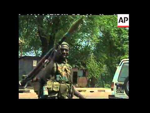 SIERRA LEONE: APTN PRODUCER SHOT & KILLED (V)