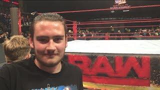 WWE RAW 7/17/17 ROW 3 (Nashville, TN) | Brandon Hodge Vlog #60