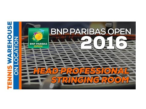 Head Stringing Room Interview - 2016 BNP Paribas Open