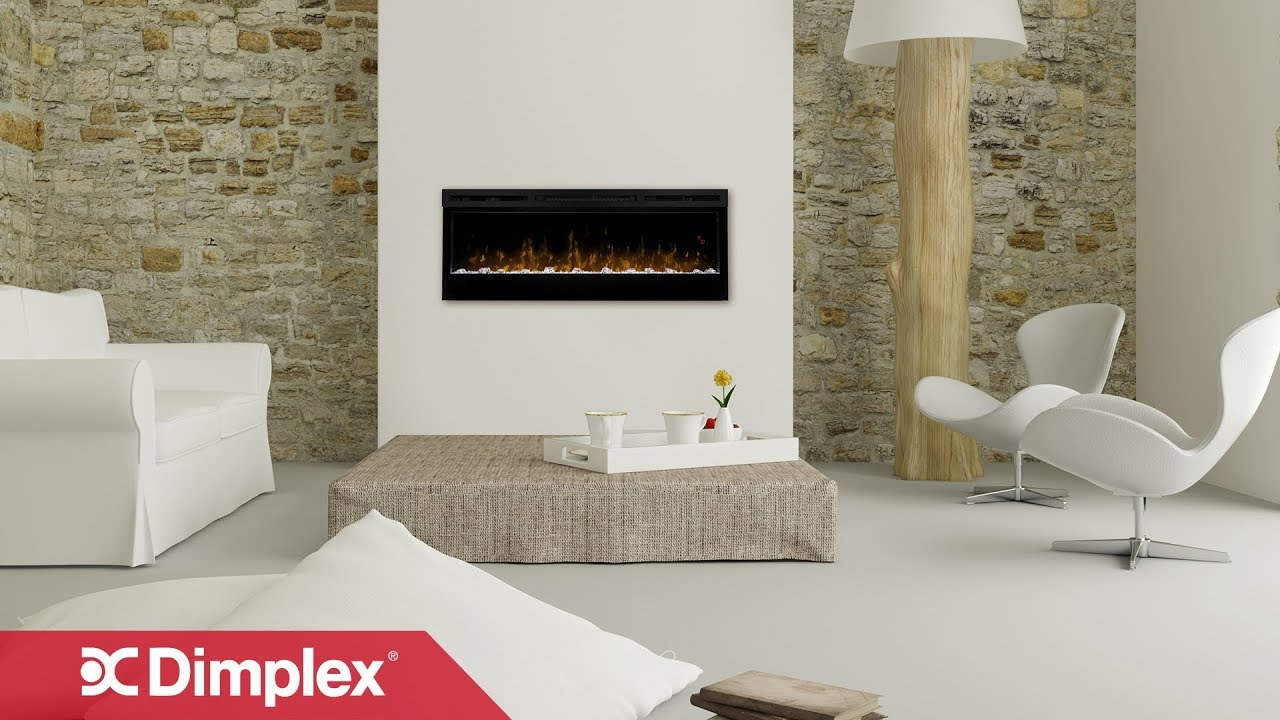 dimplex linear electric fireplace installation youtube