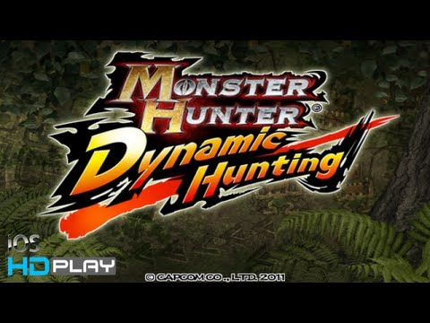 MONSTER HUNTER Dynamic Hunting - IPhone/iPad HD Gameplay